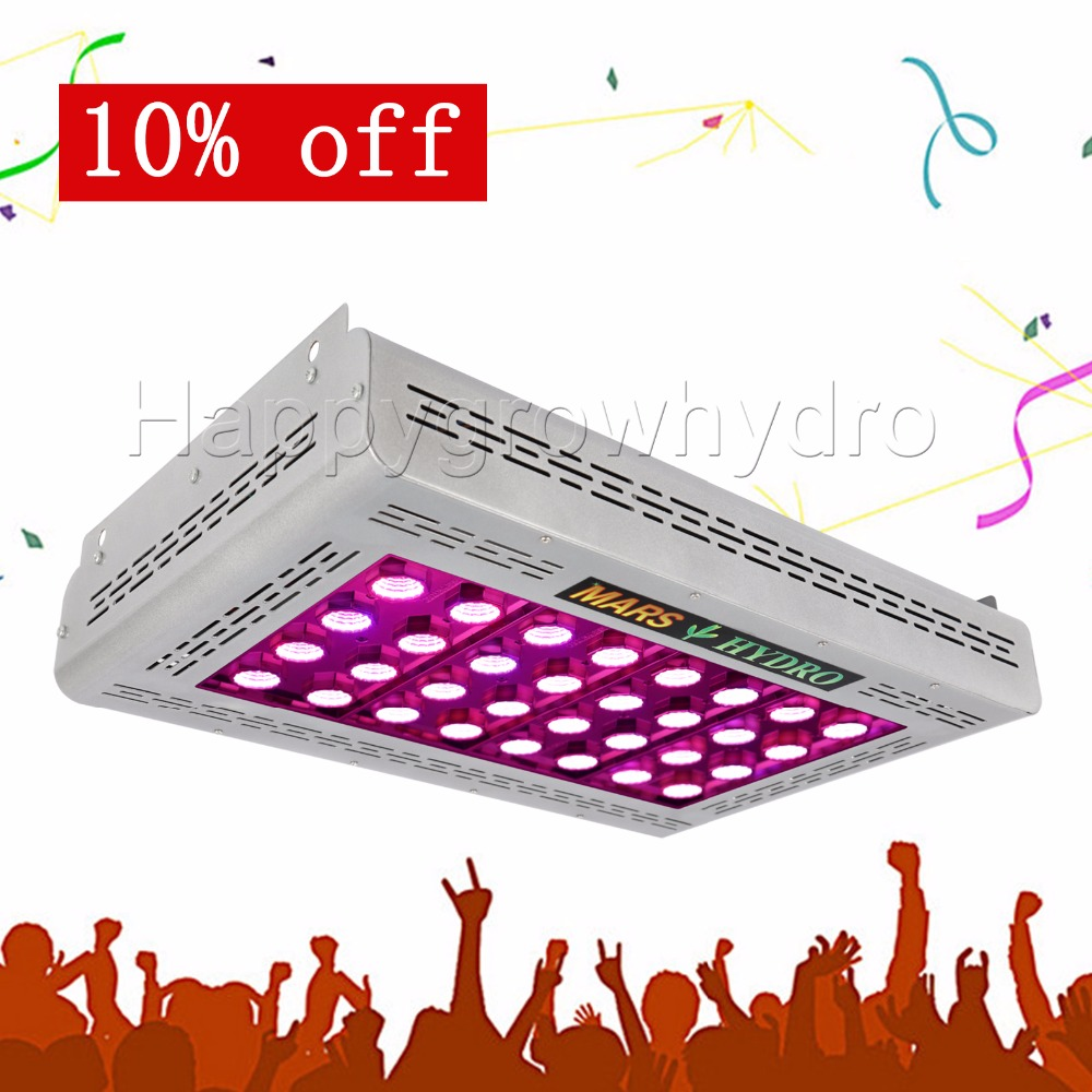 все цены на  Mars Hydro Mars Pro II Epistar 160 LED Grow Light ,hydroponic system Best for Veg Flower Plant 386W  онлайн