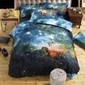 3d galaxy juegos de cama doble/queen size universo espacio ultraterrestre temática colcha 2 unids/3 unids/4 unids ropa de cama ropa de cama edredón conjunto