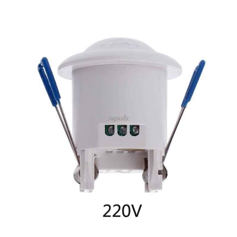 Gewidmet 12 V/220-240 V 360 Grad Sicherheit Pir Infrarot Motion Bewegung Sensor Detektor Schalter Decke Montiert