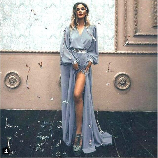Boho chic sequined maxi summer dress  1