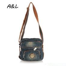 Luxury Handbags Women Bags Designer Women Messenger Bags Vintage Casual Denim Crossbody Bag Dollar Price Sac