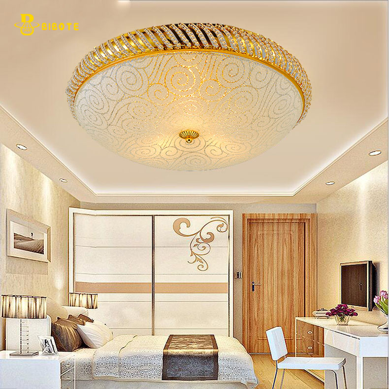 Crystal Ceiling Light Fixture Modern LED Crystal Light  Gold Ceiling Light Lighting Lamp Guaranteed 100%+Free shipping!
