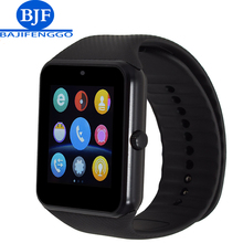 GTZ08 touch screen clock Bluetooth smart watch sports pedometer support SIM card camera smart watch Android smartphone Russia