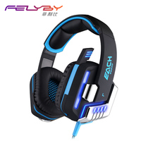 New YG LLG5 Gaming Headset 7 1 Surround USB Vibrator Gaming Professional Gaming Players Microphone LED