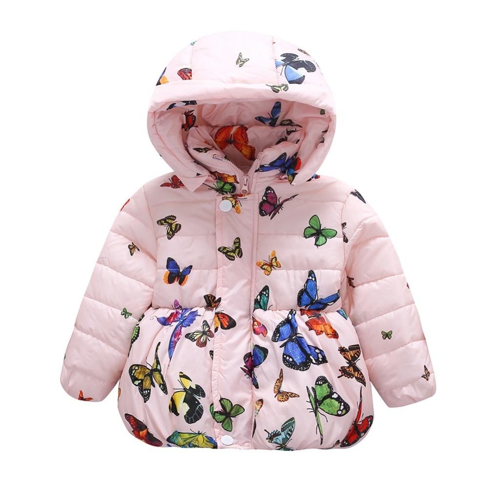 Children Kids Baby Jacket 2017 Autumn Winter Girl Princess O