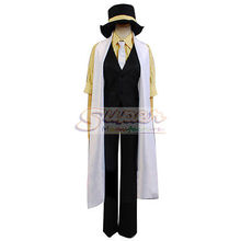 DJ DESIGN Anime VOCALOID Kagamine LEN Trickery Deceive Casino Clothing Cosplay Costume(China)