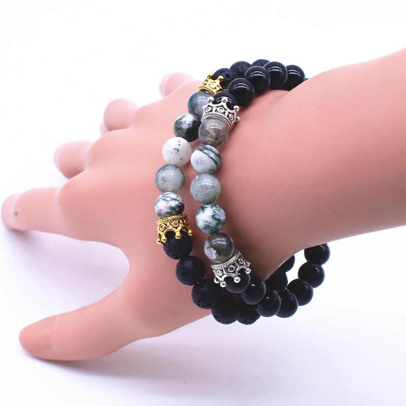 VOQ 10 cái/lốc Imperial Thái Beads đối với Trang Sức Làm DIY Hợp Kim Spacer Hạt Fit Bracelet Trang Sức Phụ Kiện Bán Buôn P137