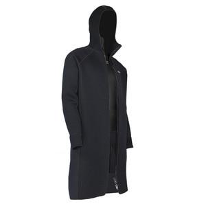 Image 4 - New SLINX 3MM Men Women Neoprene Hooded Windbreaker Wetsuit Diving Suit Keep Warm Swimwear for Snorkeling Fishing Swimming