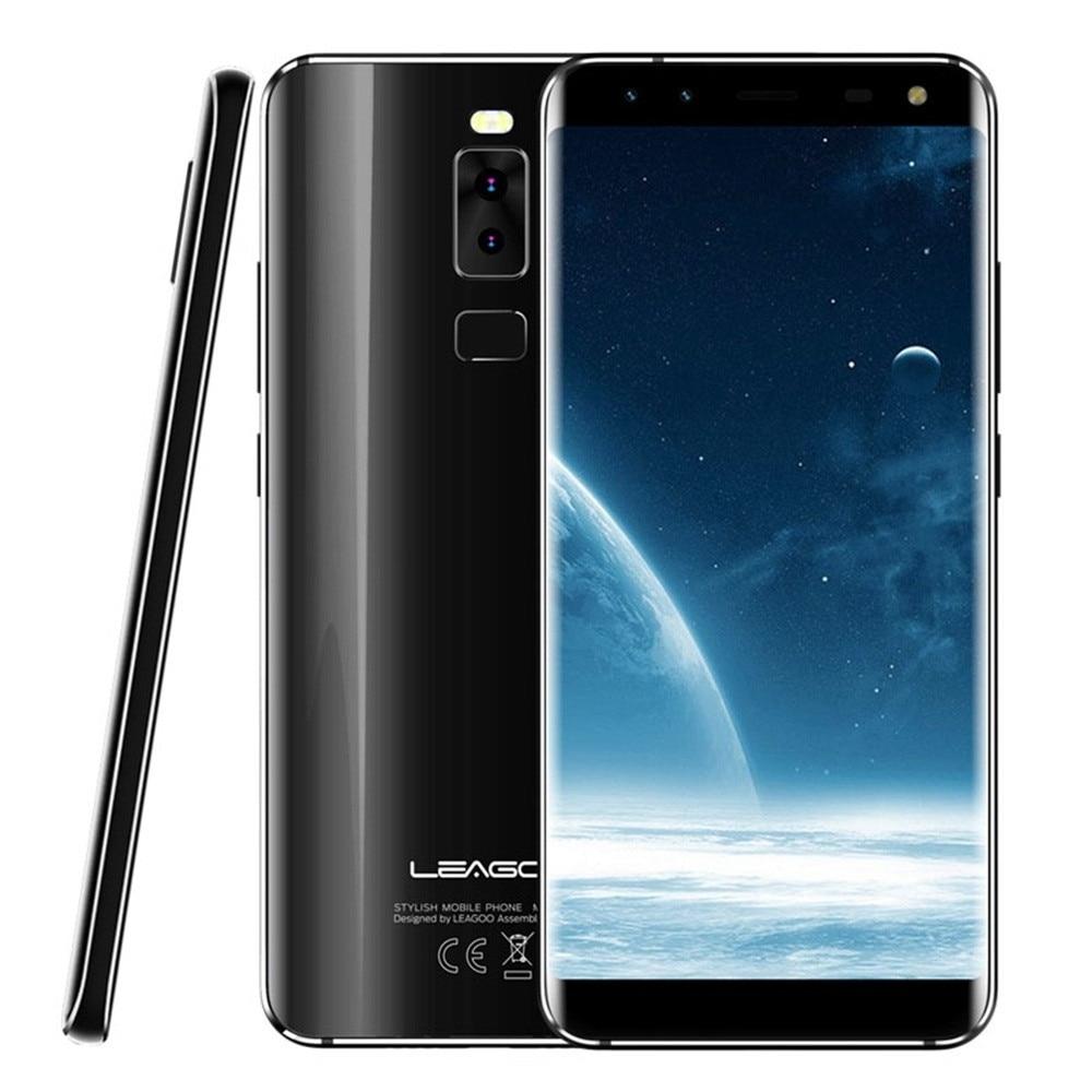 LEAGOO S8 Android 7.0 3+32G Helio P25 Octa Core 4G Smartphone Fingerprint Type-C Apr18 leagoo kiicaa power 3g smartphone