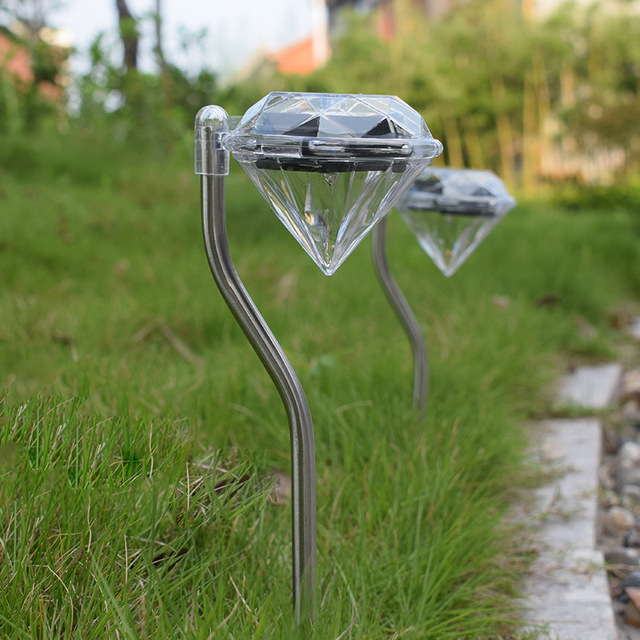 Diamond LED Solar Light Garden Decoration Lamps  5