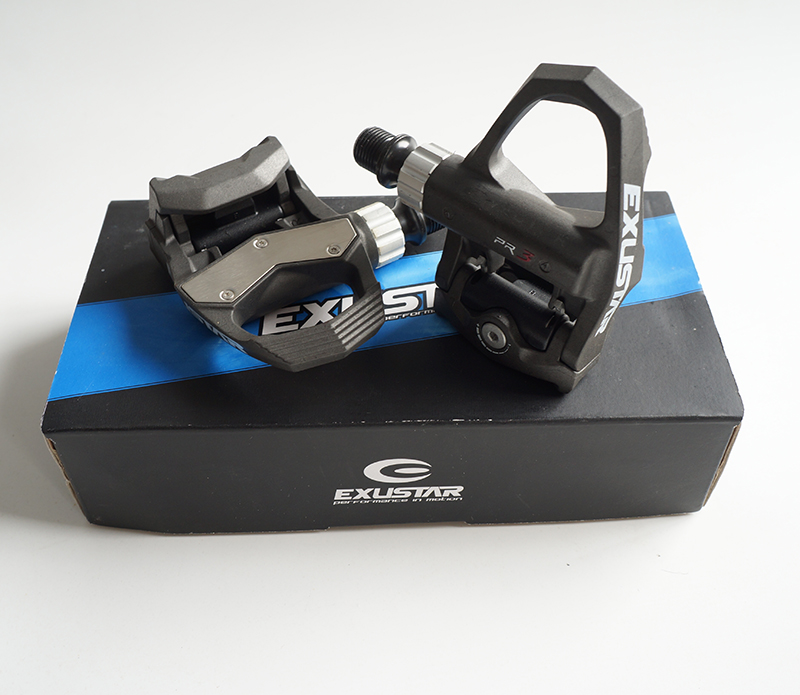 EXUSTAR E PR3ST Full Contact Road Pedals Thermoplastic Body Axle CNC machined Cr Mo 308g pair