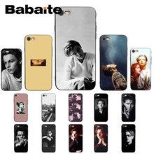 Babaite joven leo joven Leonardo DiCaprio ser suave carcasa para iPhone8 7 6 6S 6Plus X XSMAX 5 5S SE XR 10 11 11pro 11promax