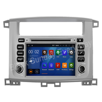 IPS DSP 8 Core 4 RAM 2 Din Android 9 car multimedia dvd player GPS for TOYOTA LAND CRUISER 100 1998 2007 / LC 100 / Lexus LX 470