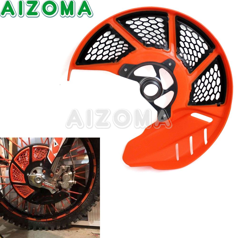 Motocross X-Brake Front Disc Cover Guard Rotor Vented Protector For KTM EXCF/XCF/SXF/EXC/SMR/XC/SX 125/200/250/300/450/525/530