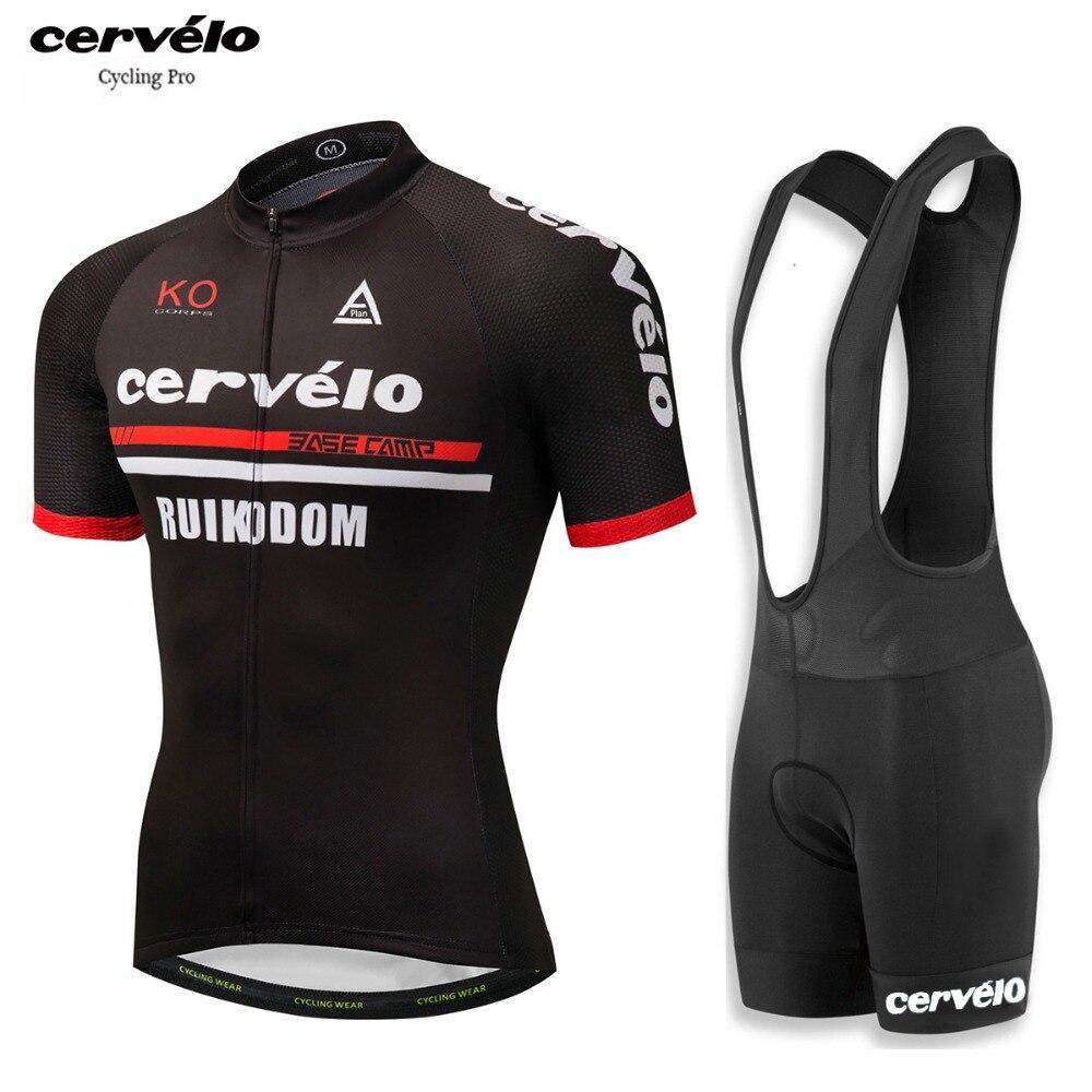 2018-Cervelo-Summer-Men-s-Cycling-Jersey-Set-12D-Gel-Pad-with-Bib-Ropa-De-Ciclismo