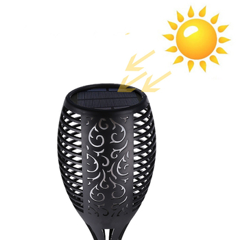 LED Nyala Lampu Outdoor Tahan Air Dekoratif Lampu Senter LED Surya Pengisian Landscape Lighting Halaman Taman Ledlawnp