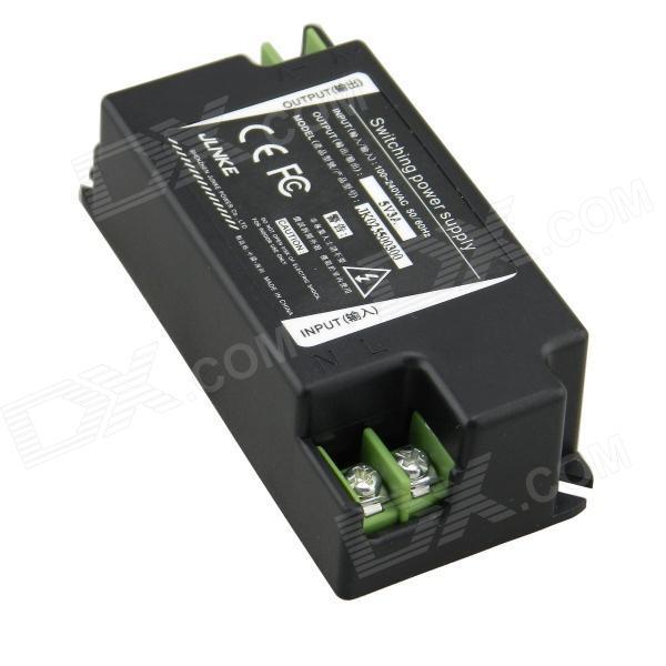 5V 3A Switching LED Power Supply Adapter - Black (AC 100~240V / 15W)