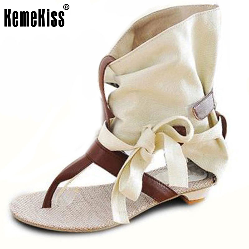 Big Size 34-43 Fashion Women Gladiator T straps Flat Heel Sandals Summer Shoes Brand New Casual Dress Chic Sandals S236 factory sell fashion gladiator t straps summer flats sweet bow shoes casual dress women sandals 4 colors eur size 34 39 ddm917
