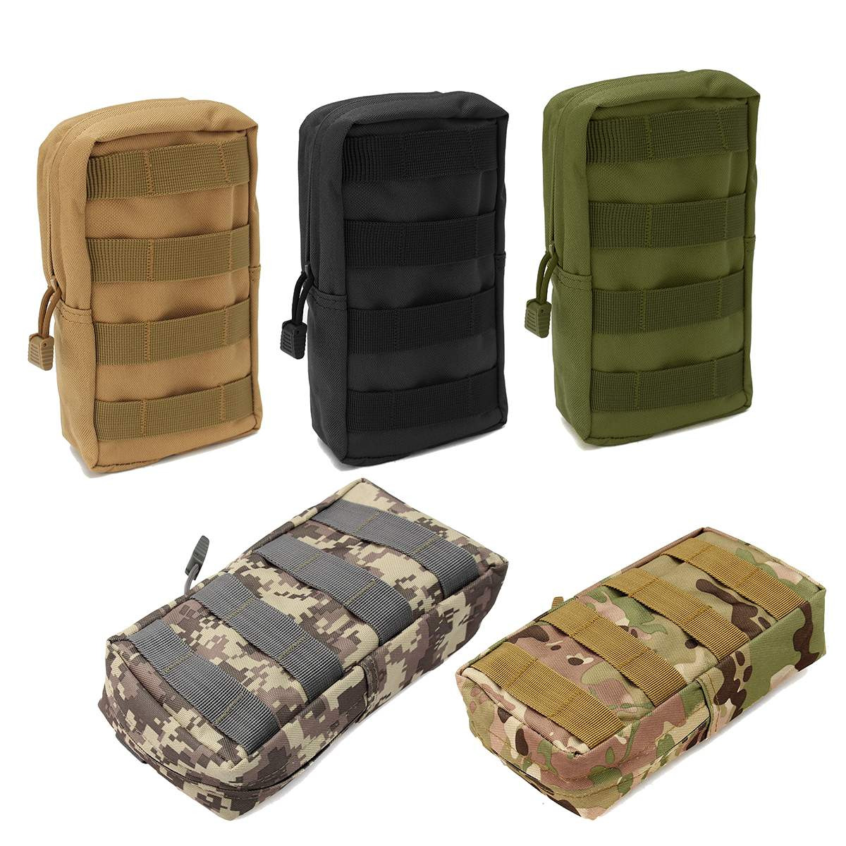 Nylon Tactical Molle Waist Bag Waterproof Medical First Aid Outdoor Bags Utility Emergency Storage Pouch Bag Emergency Kits