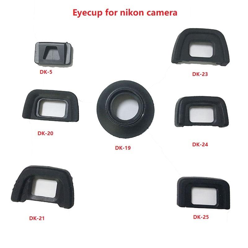 Foleto Eyecup DK-5 DK-19 DK-20 DK-21 DK-23 DK-24 DK-25 Viewfinder Eyepiece for NIKON Camera DSLR D3300 D3200 D5300 D5500 d5000 dk readers l3 amazing animal journeys