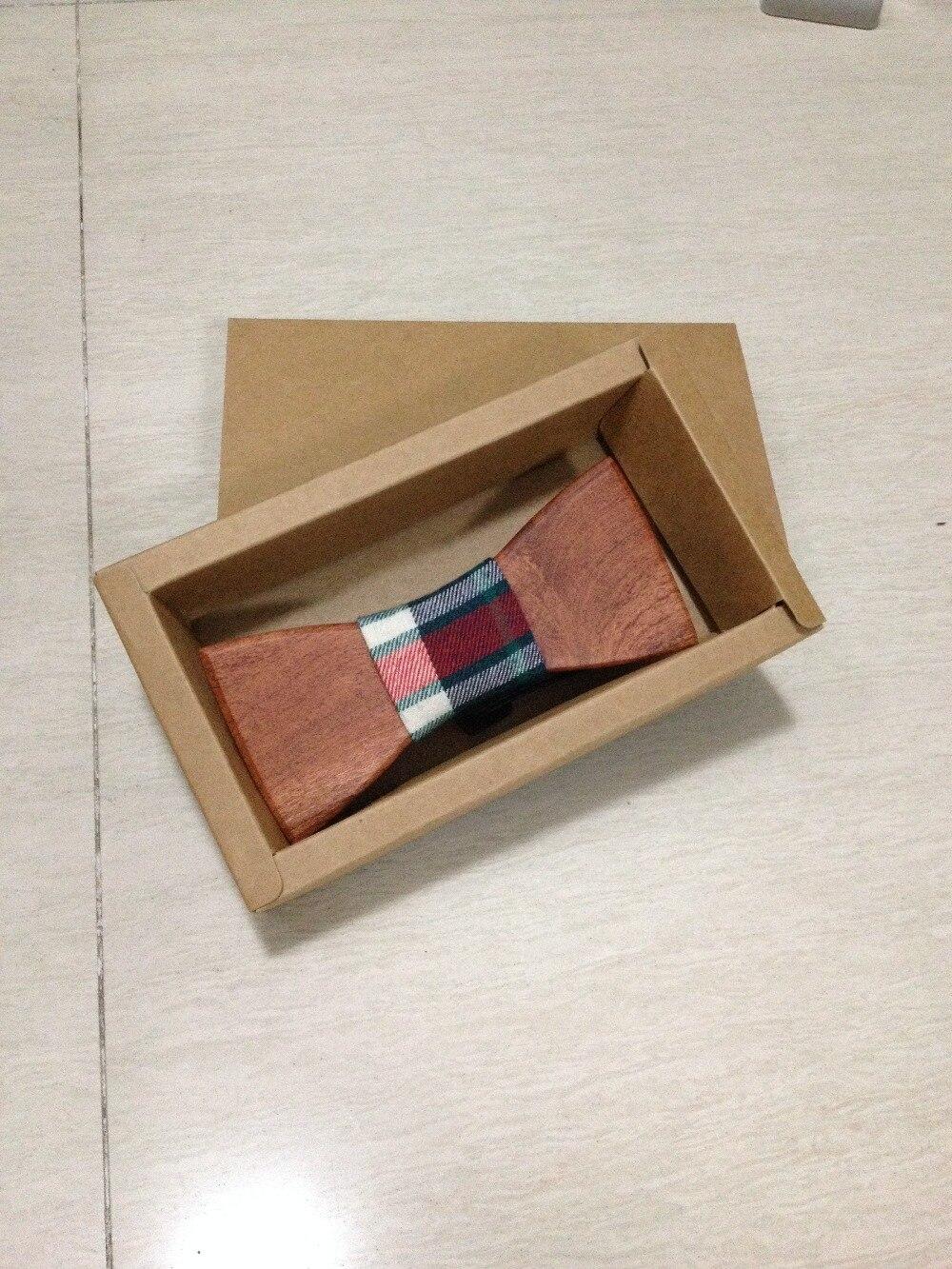 Модные древесины ручной Свадьба Галстук галстук-бабочка в Западной Европе деревянная бабочка мужчины бабочкой 1 шт./лот