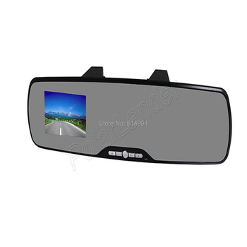 2015  HOT  Car RAERVIEW  mirror DVR  Support GPS TF card View Cam 2.7 inch TFT LCD screen touch Full HD1080P  120 degree LEN