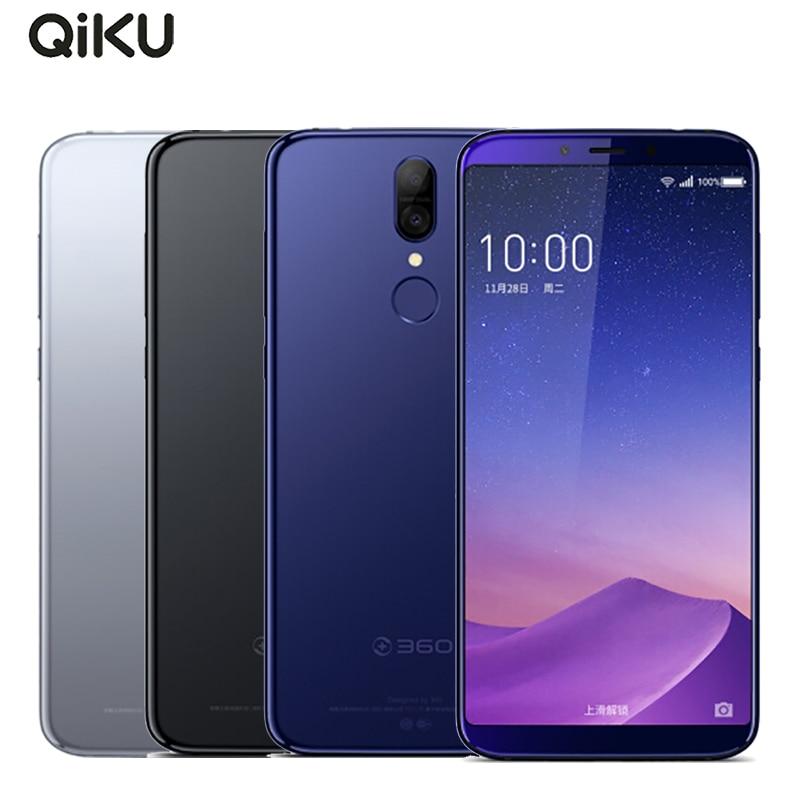 "Original Qiku 360 N6 Pro Cell Phone 5.99"" Full Screen 6GB RAM 128GB ROM Snapdragon660 Octa Core 4050mAh Dual Cameras Smartpone"