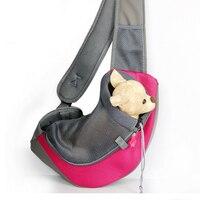 Mejor Venta de Bolsas Para Perros Mascotas Cachorro Gato Portador Delantero bolsa de Viaje Portátil Bolsa de Malla Cabeza Solo Bolso de Hombro
