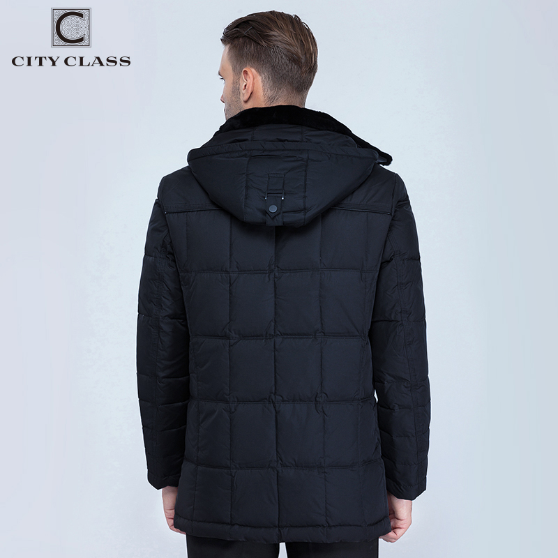 Parkas Winter New Brand Raccoon Collar Mens Park Jacket Mens Long Hooded Padded Fashion Warm Winter Clothes Mmens Winter Jacket Reliable Performance Men's Clothing