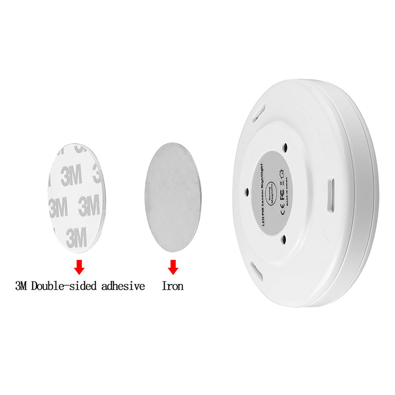 Night Light Magnetic Infrared IR Bright Motion Sensor Activated LED Wall Lights Auto Operated For Hallway Pathway lamp motion activated blue light 7 led message display wheel lights for bikes and cars