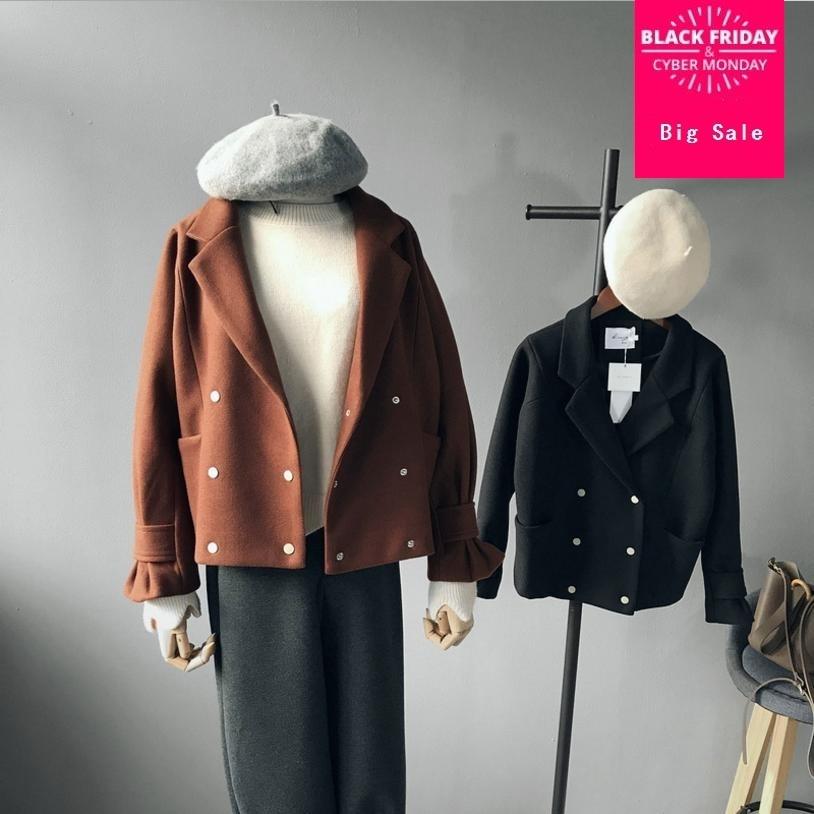 6c588c6338 Femmes-cor-ennes-veste-manteau -2018-automne-hiver-nouveau-solide-de-couleur-l-che-veste-courte.jpg
