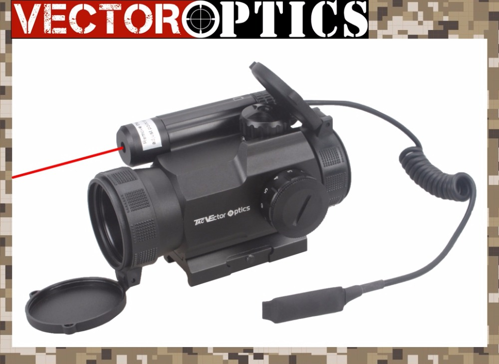 Vector Optics Rayman 1x30 Tactical 21mm Weaver Rise Mount RED Laser Gun Reflex Red Dot Sight Scope vector optics tactical harrie 1x22 mini red dot scope reflex pistol weapong gun sight with 21mm picatinny mount base