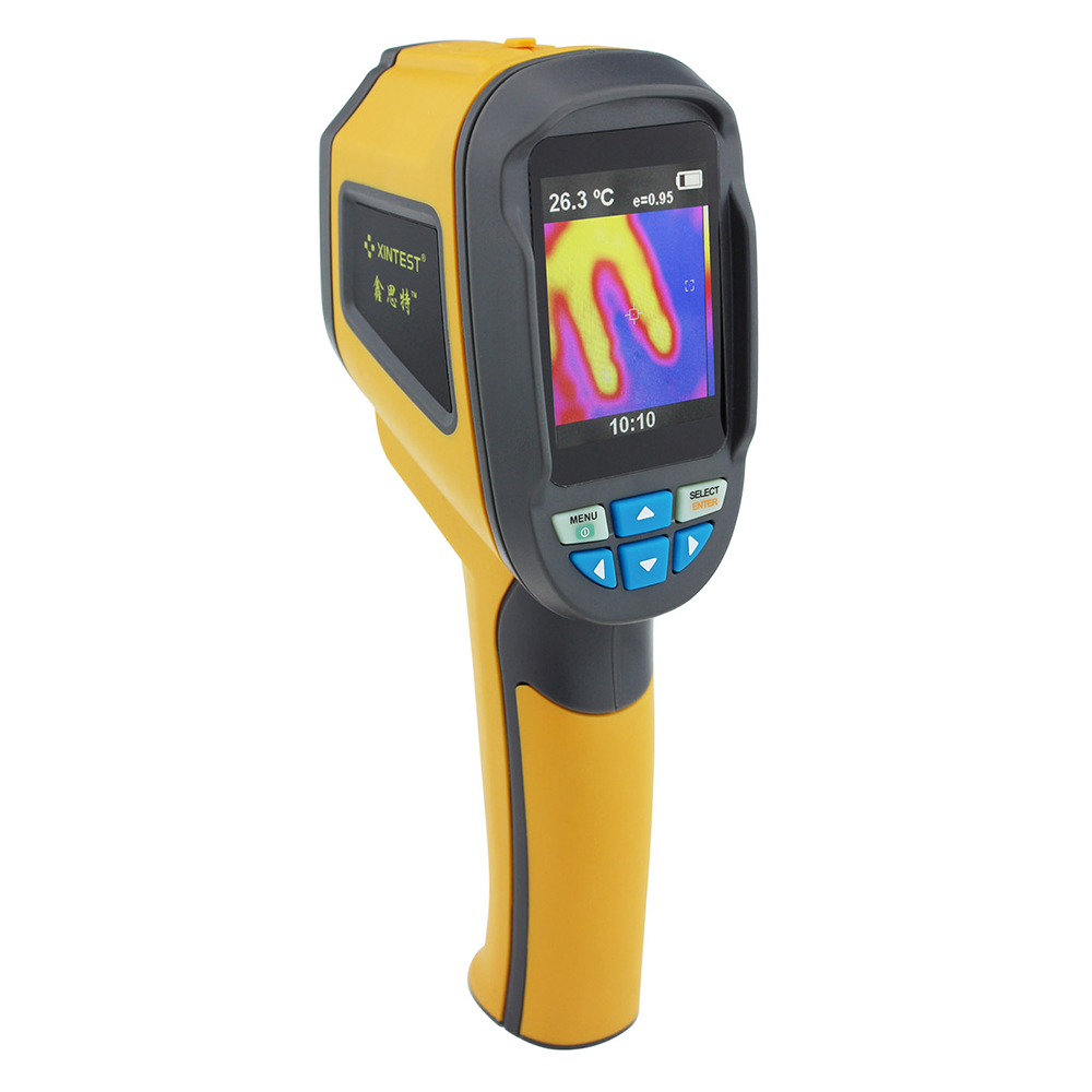 Thermal Imager instrument Camera Infrared IR Thermometer Imaging Portable Handheld Device car Testing equipment total pixels1024 professional handheld thermal imaging camera ht 04 portable infrared thermometer ir thermal imager infrared imaging device