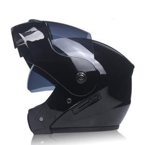 Motorcycle Helmet Double Lens