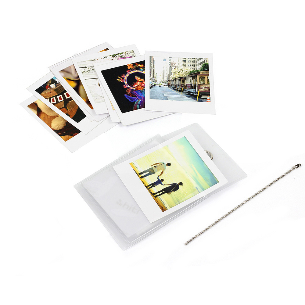 Wall-hanging Display Album With 6 Pockets For Fujifilm Instax SQ10 SP-3 Square 4 Inches Universal Films Camera Paper Photos