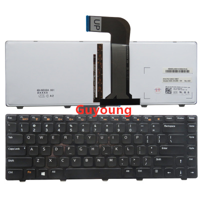 US English Keyboard For Dell VOSTRO 3350 3450 3460 3550 3555 3560 V131 Keyboard With Backlit