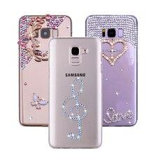 Fashion Musical note 9 8 5 Bling Rhinestone Case for Samsung Galaxy