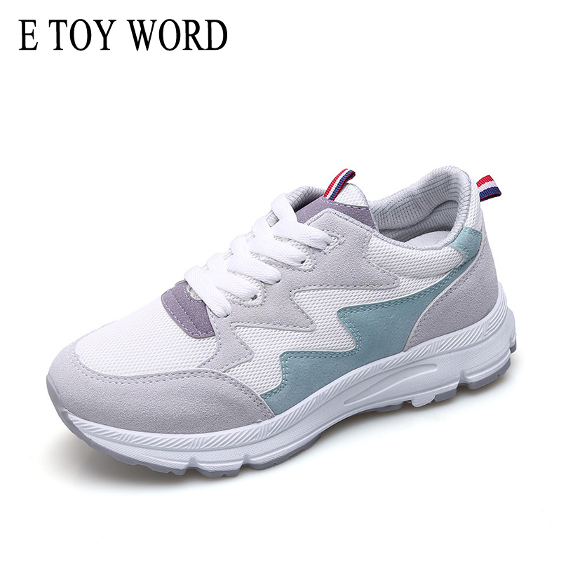 E TOY WORD Spring summer women Sneakers shoes female Korean version ulzzang 2018 new Harajuku style wild casual flat shoes free shipping factory direct sales good quality new spring summer 2016 korean version brand men straight jeans cheap wholesale