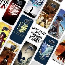 Attack on Titan Case Cover for Samsung Galaxy