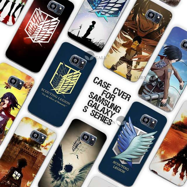 Attack on Titan Case Cover for Samsung Galaxy