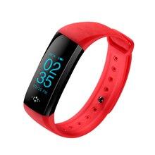 Smartch M2S smart Сердечного ритма крови Давление измеритель пульса Браслет фитнес-часы smartband для IOS Android PK fit бит
