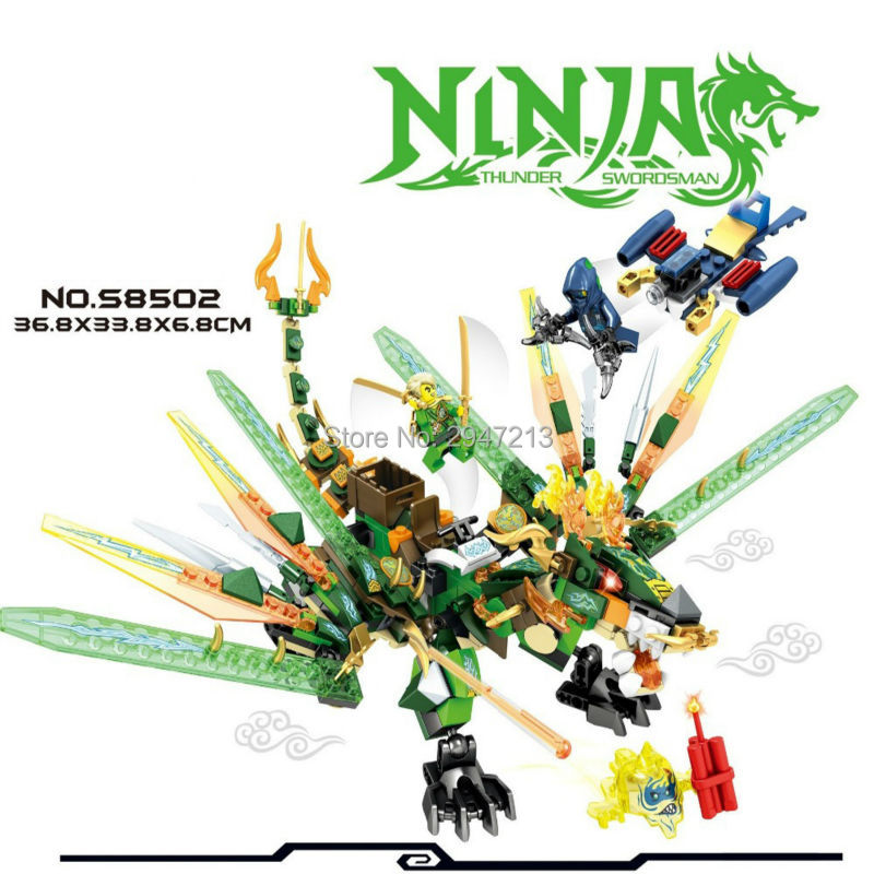 hot sembo block compatible lepin ninja figures brick with weapons Hidden fierce dragon Building blocks Toys for children gift lepin 22001 pirate ship imperial warships model building block briks toys gift 1717pcs compatible legoed 10210