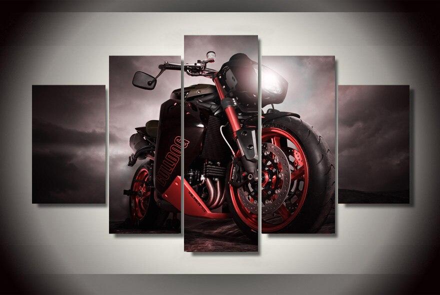 Motorcycle Room Decor Bedroom Decoration