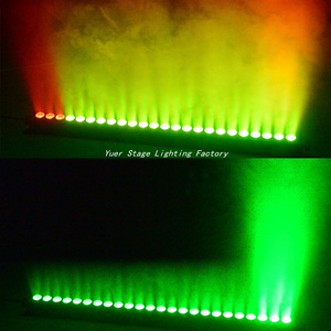 Image 5 - 4 ชิ้น/ล็อต 24x4W LED RGBW 4in1 LED กำแพงไฟ 3/6/24/28 ช่อง DMX512 LED BAR ล้างเวทีแสงเพลง DJ DISCO PARTY งานแต่งงาน