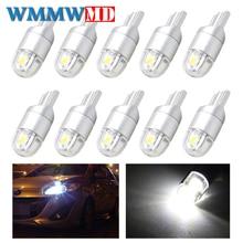 10pcs Signal Lamp 3030 T10 Led Car Bulb W5W 194 168 Led T10 Led Lamps For