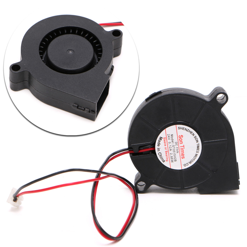 DC 24V Brushless Cooling Turbine Blower Fan 5015 50*62*15mm Durable New -R179 Drop Shipping 50mmx15mm dc 12v 0 14a 2 pin computer pc sleeve bearing blower cooling fan 5015 r179t drop shipping