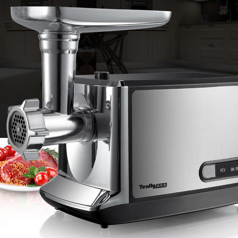 Household Meat Grinder Stainless Steel Meat Mincer Electric Mincing Machine THMGF500A small manual operate meat mincing
