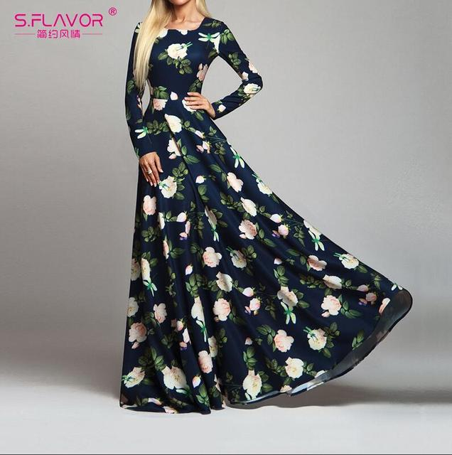 Women Retro Floral Printed...