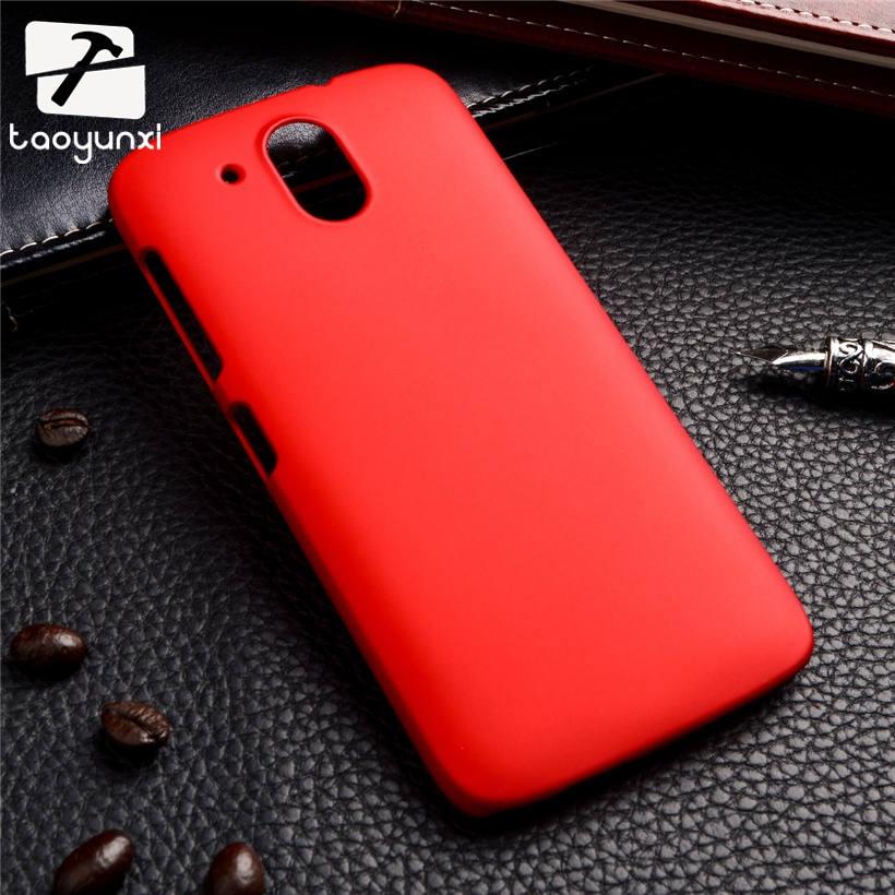 TAOYUNXI hard plastic case matte phone cover For HTC Desire 526 326 526G 526G+ 326G 728 728G Dual Sim D728 cover Rubber shell