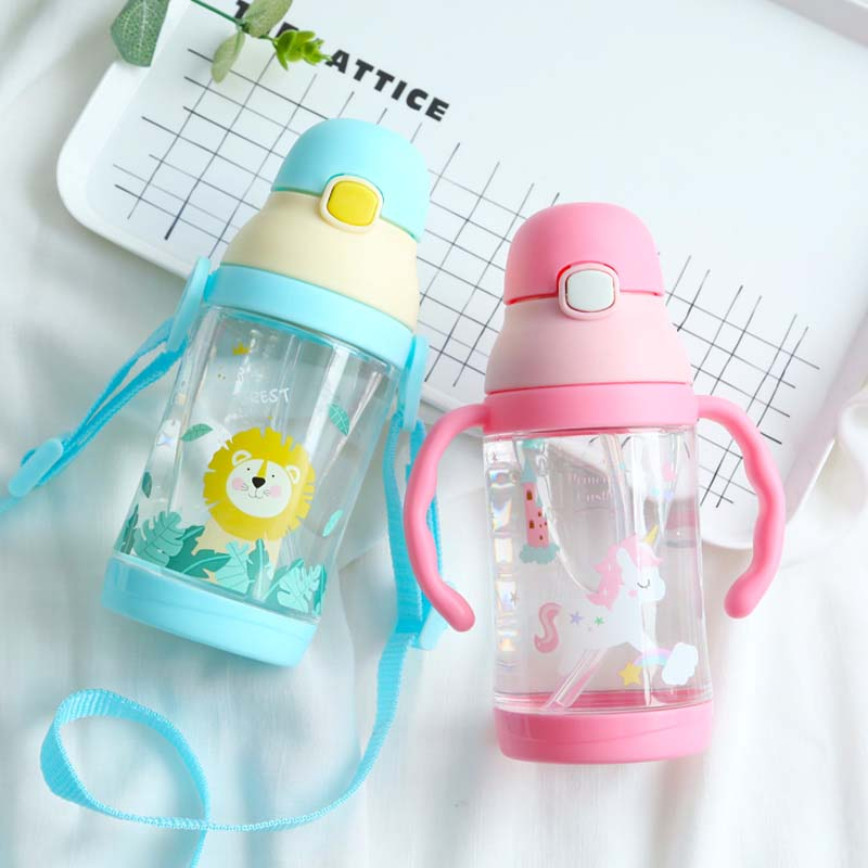 Mamadeira Bpa Frei Baby Fütterung Flasche Sicher Tritan Infant Saft Milch Wasser Fütterung Flasche Tasse 2 Verwenden Baby Milch Flasche SpäTester Style-Online-Verkauf Von 2019 50% Mutter & Kinder Flaschen
